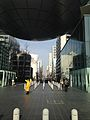 Path beneath dome of Nagoya City Science Museum.jpg