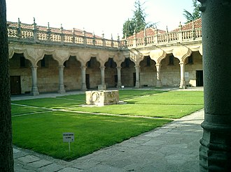 University of Salamanca - School Courtyard in the University.