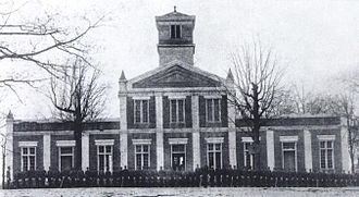 Patrick Military Institute - Postcard of the Patrick Military Institute ca. 1893
