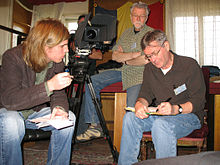 Paul Radu being interviewed by Richard Young and Robert Bilheimer in 2007