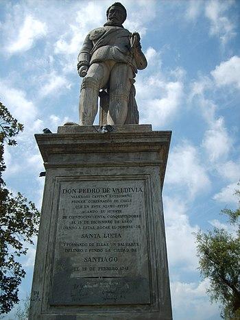Pedro de Valdivia Monumento