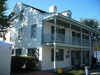 University of West Florida - The Tivoli House, one of UWF's historic properties.
