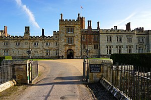 Penshurst Place - Private entrance to Penshurst Place, Penshurst, Kent.
