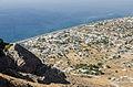 Perissa seen from ancient Thera - Santorini - Greece - 02.jpg