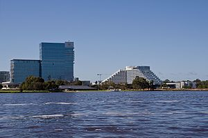 Burswood, Western Australia - Crown Perth (previously known as the Burswood Casino)