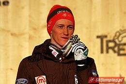 Peter Prevc Val di Fiemme 2013 (normal hill individual - decoration).JPG