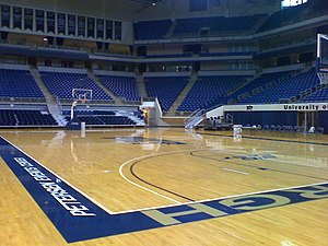 Petersen Events Center - An inside view of the arena