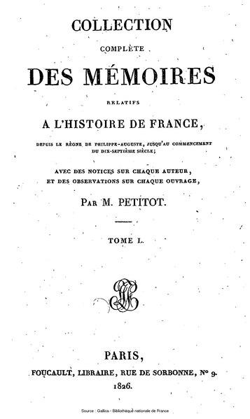 File:Petitot - Collection complète des mémoires relatifs à l'histoire de France, 1re série, tome 50.djvu