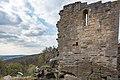 Pfarrweisach, Liechtenstein, Ruine der Nordburg 20170414 005.jpg