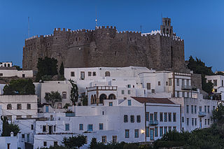 Monastery of Saint John the Theologian in Patmos, where the Book of Revelation was written