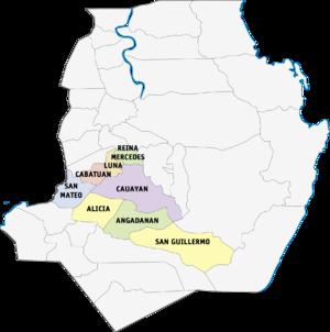 Legislative districts of Isabela - 3rd District of Isabela