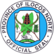 Official seal of Ilocos Utara
