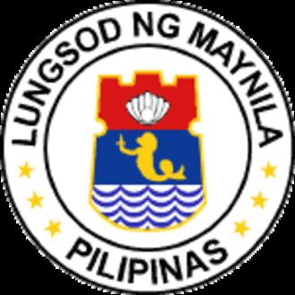 Mayor of Manila - Image: Ph seal ncr manila