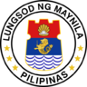 Official seal of City of Manila