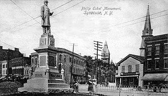Northside, Syracuse - Philip Eckel Monument - Syracuse, New York 1905