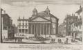 Piazza della Rotonda ampliata da N. S. Papa Alesandro VII by Giovanni Battista Falda (1665).png