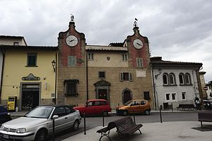 Montespertoli - Machiavelli Square.