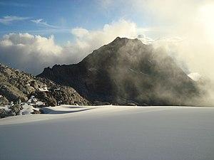 Pico Bonpland - Pico Bonpland as seen from the Pico Humboldt