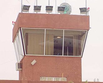 Piedras Negras International Airport - Control tower of the airport.