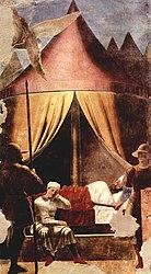 Piero della Francesca: Sen Konstantyna