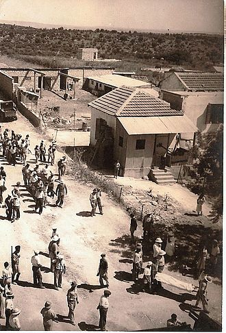 1936–1939 Arab revolt in Palestine - Funeral of Jews from Givat Ada  that were killed in 1936.