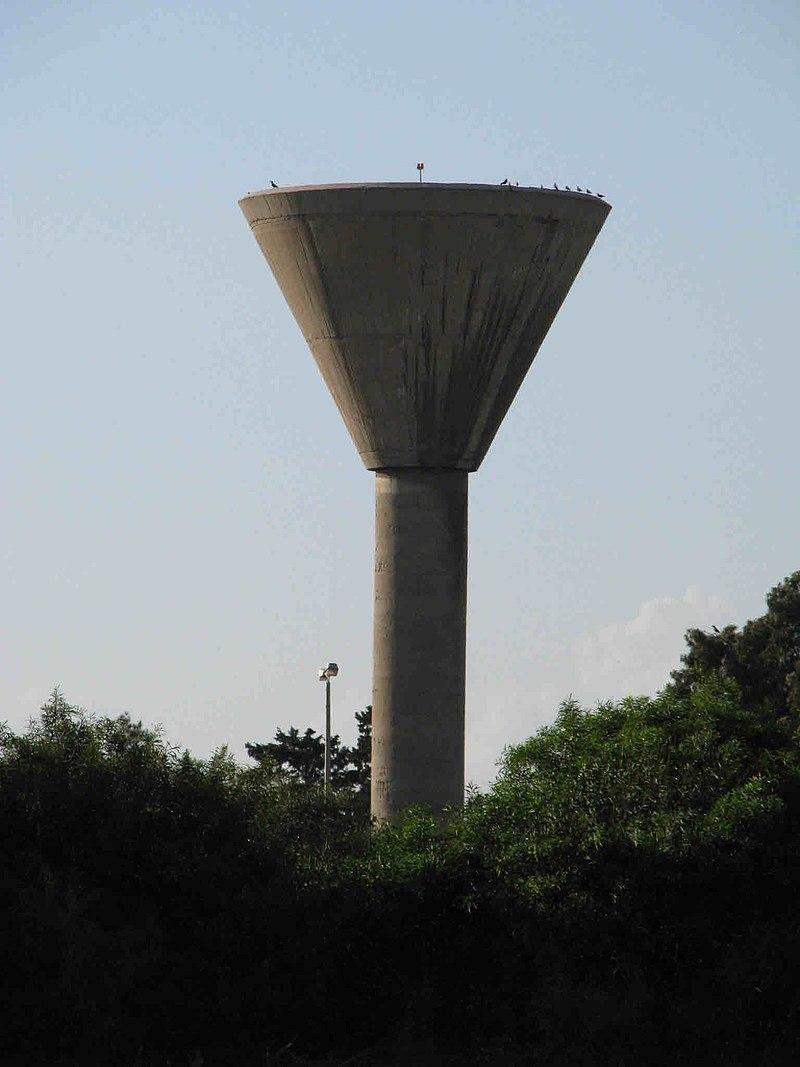 """מגדל המים בביה""""ס הטכני של חיל האויר"""