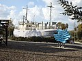 PikiWiki Israel 64798 the illegal immigrant ship in the atlit camp.jpg