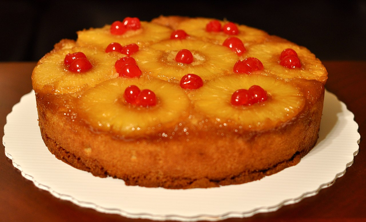 Pineapple Upside Down Dump Cake Recipe