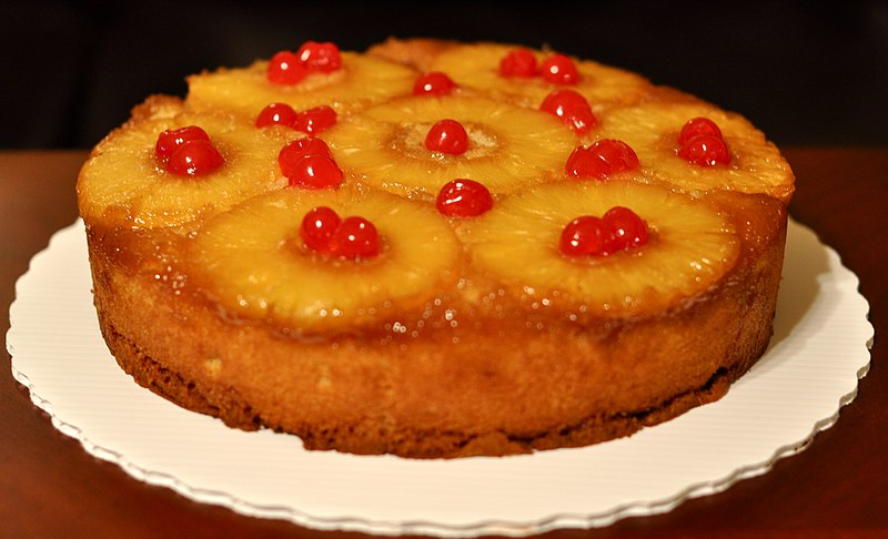 Pibeapple Upside Down Caje Witg Cake Mix