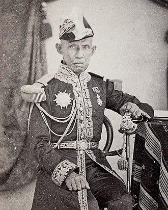 Pinklao - Pinklao in western style Naval Uniform