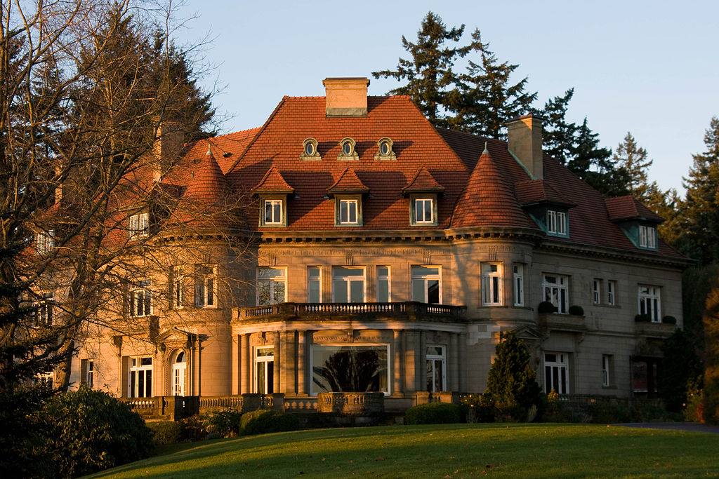 Pittock Mansion (north side)