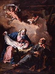Nativity (Pittoni, Museum of Fine Arts of Quimper)