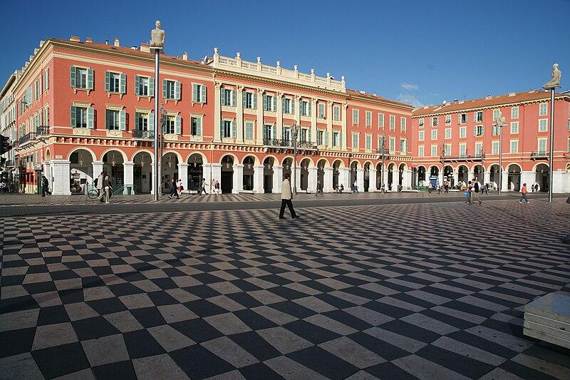 Ponto turístico de Nice histórico