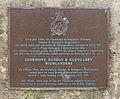 Plaque Stormont Dundas Glengarry Highlanders Bernières Calvados, France.jpg