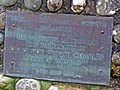 Plaque at the hospital helipad - geograph.org.uk - 992284.jpg