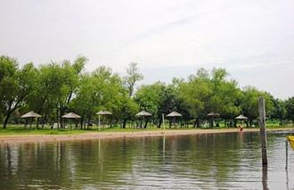 Ypacaraí Lake - Aregua beach