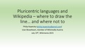 Pluricentric languages and Wikipedia.pdf