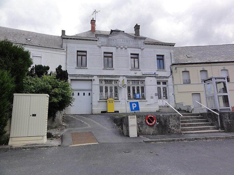 Pont-sur-Sambre (Nord, Fr) La poste
