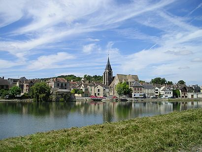 How to get to Pont Sur Yonne with public transit - About the place