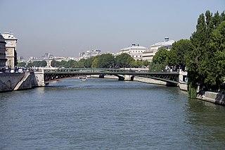 Bridge in Paris over the River Seine