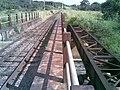 Pontes ferroviárias sobre o Ribeirão Piraí no limite dos municípios de Salto e Indaiatuba - Antiga (Ytuana) e atual (Variante Boa Vista-Guaianã km 212) - panoramio.jpg