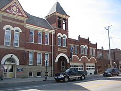 Pontiac City Hall and Fire Station1.JPG