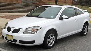 Chevrolet Cobalt - Image: Pontiac G5 coupe