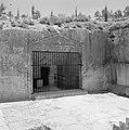 Poort in een opgraving van het Sanhedrin (Joodse gerechtshof), Bestanddeelnr 255-2389.jpg