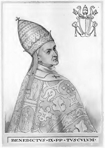 Pope Benedict IX Illustration