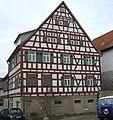 Poppenweiler - Ehemaliges Gemeinde- und Schulhaus DSCF4924.jpg