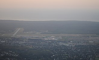 Port Elizabeth Airport - Aerial view of Port Elizabeth Airport