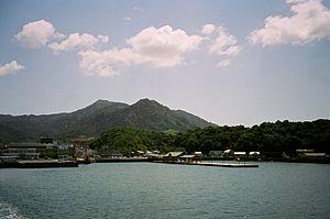 Ōmishima Island, Ehime - Image: Port miyaura 1