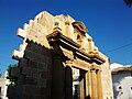 Portada reconstruïda de l'església de sant Pere, Benissa.JPG