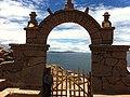 Portal da Ilha de Taquila, Puno, Peru (Lago Titicaca) - panoramio.jpg